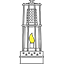 Association la lumière du mineur | Frugères-les-Mines Logo